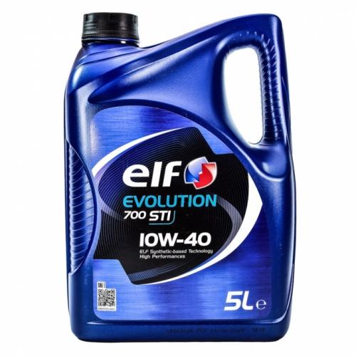 Моторное масло  Elf EVOLUTION 700 STI 10w40 5л/4,35кг НОВАЯ КАНИСТРА!!!