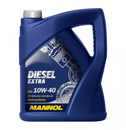 Моторное масло Mannol Diesel Extra 10w40 5л