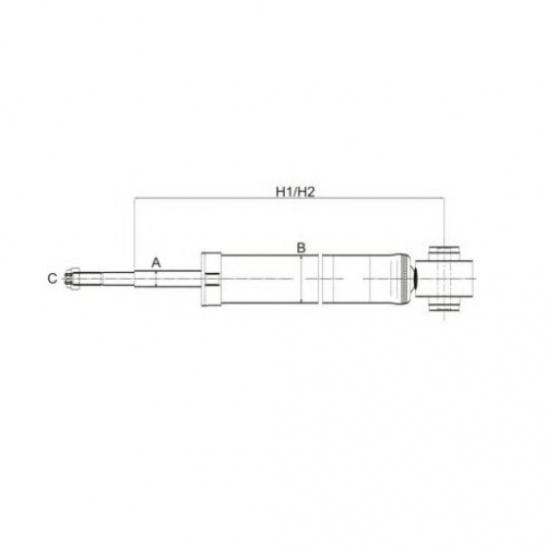 SCT Амортизатор задній Z 1225 DEAWOO/CHEVROLET Aveo `03-`06