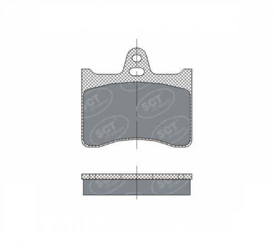 SCT Колодки SP 297