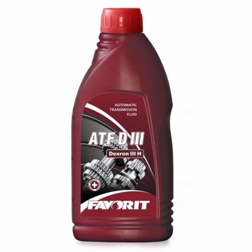 Трансмиссионное масло FAVORIT ATF D III 1л