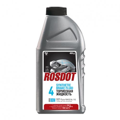 Гальмівна рідина РосДот - 4 0,5 л СІРА банку