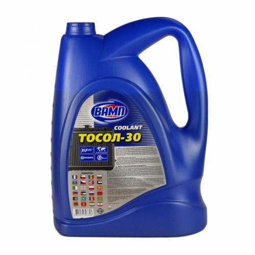 Охлаждающая жидкость Вамп Тосол -30  10л.