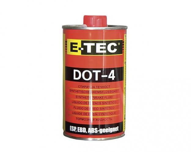 Трансмиссионное масло E-TEC ДОТ-4 0,5л