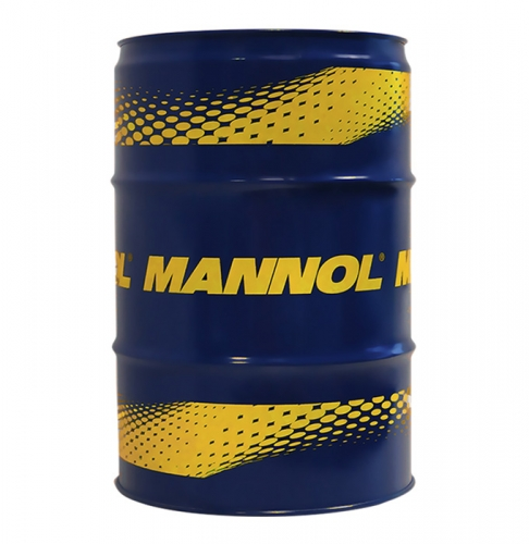 Моторное масло Mannol 2Takt Plus 60л КРАСНОГО цвета