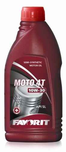 Моторное масло FAVORIT Moto 4T 10w30 1л SL