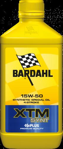 Моторное масло BARDAHL XTM SYNT 15W50 MOTO 1л.  344040