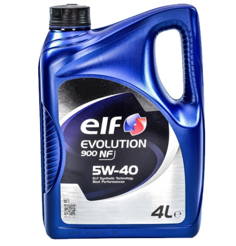 Моторное масло Elf EVOLUTION 900 NF 5w40 4л/3,41кг НОВАЯ КАНИСТРА!