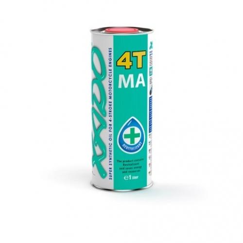 Моторное масло XADO 4T 10w40 1л зеленая банка