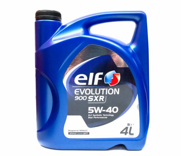 Моторное масло Elf EVOLUTION 900 SXR 5w40 4 л.