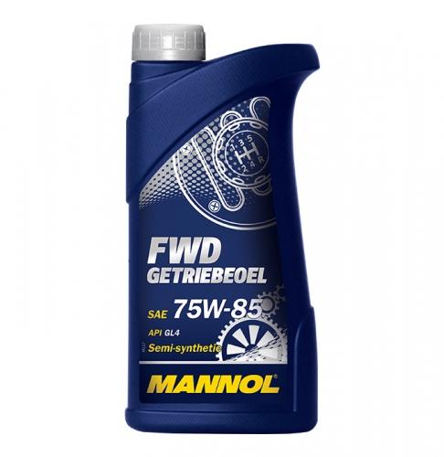 Трансмісійне масло Mannol FWD Getriebeoel  75w85 GL-4 1л