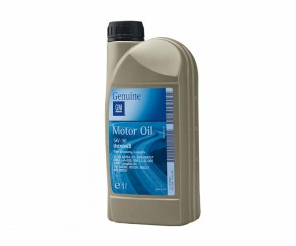 Оригинал GM 5w30 1л SL/CF A3/B4 (20)