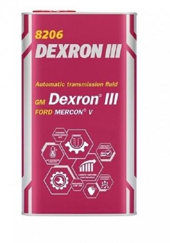 Трансмиссионное масло Mannol (metal) ATF Dexron lll 4л