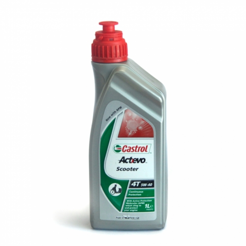 Моторное масло Castrol EVO Scooter 4T 5w40 1л