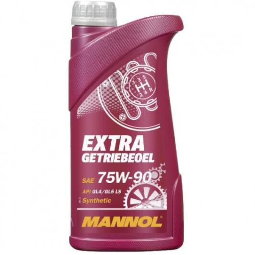 Трансмиссионное масло Mannol Extra Getriebeoel 75w90 GL-5 1л