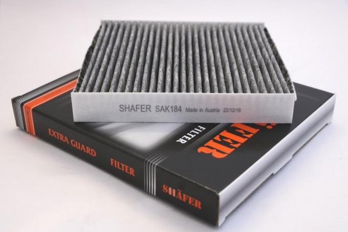 Фильтр салонный SHAFER SAK184 (SCT SA K180) Citroen Berlingo/Partner 03-08/Xsara 97-05  угольный