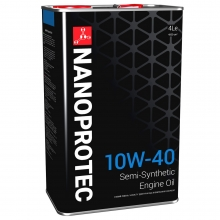 Моторное масло Nanoprotec 10w40 4л