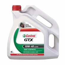 Моторне масло Castrol GTX 10w40 4л.