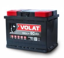 Аккумулятор VOLAT - 60A +левый (L2) (550 пуск)