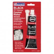 Герметик силик. черный Abro 85г