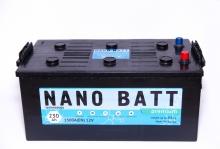 Аккумулятор NANO BATT  Premium - 230 (евробанка) (1500 пуск)2020!!!