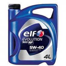 Моторное масло Elf EVOLUTION 900 NF 5w40 4л