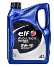 Моторное масло Elf EVOLUTION 900 SXR 5w40 4л/3,39кг НОВАЯ КАНИСТРА!!