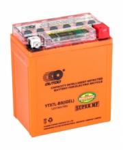 Аккумулятор МОТО GB CYCLE&OUTDO (высокий) оранж. с индикатором 12v 7А гель
