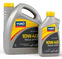 Yuko Моторное масло YUKO Vega Synt 10w40 1л SG/CD Украина