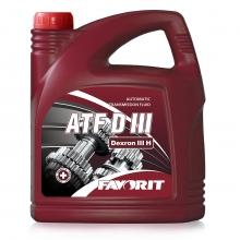 Трансмиссионное масло FAVORIT ATF D III 4л