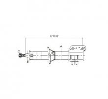 SCT Амортизатор передний Z 3110 L DEAWOO/CHEVROLET Matiz