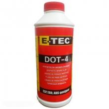 Тормозная жидкость E-TEC ДОТ-4 1л