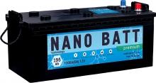 Аккумулятор NANO BATT  Premium - 195 (евробанка) (1300 пуск)2020!!!