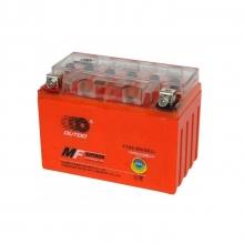 Аккумулятор МОТО OUTDO (высокий) оранж. БЕЗ ИНД. 12v 9А гель