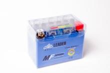 Аккумулятор МОТО LEADER 12V  4A гель (синий)
