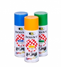 Краска-аэрозоль Bosny №22 серебряно-серая 0,4л