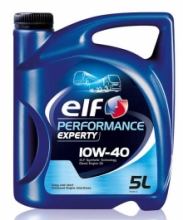 Моторное масло Elf PERFORMANCE Experty 10w40 5л