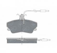 SCT Колодки SP 300