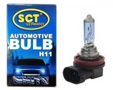 SCT 202624 Лампочки H11 White 12V 55W PGJ 19-2(10)