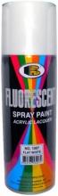 Флуоресцентная краска-аэрозоль Bosny №1007 белый матовый 0,4л