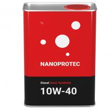 Моторное масло Nanoprotec Diesel 10w40 1л