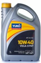 Yuko Моторное масло YUKO Vega Synt 10w40 5л SG/CD Украина