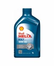 Моторное масло Shell Helix HX7 10w40 1л SN/CF A3/B4 (синий)