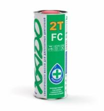 Моторное масло XADO 2T синтетика 1л