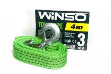 Трос буксировочный 3т.,4м сумочка WINSO (133400)