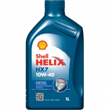 Моторное масло Shell Helix HX7 Diesel 10w40 1л CF A3/B4