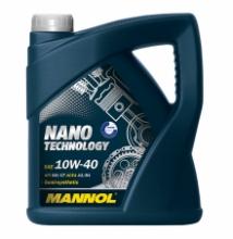 Моторное масло Mannol Nano Technology 10w40 4л SM/CF