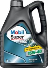 Моторное масло Mobil Super 1000 15w40 4 л SL/CF  A3/B3