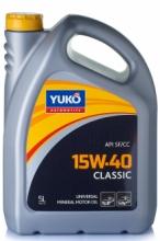 Моторное масло YUKO Classic 15w40 5л SF/CC