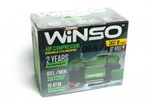 Компрессор автомобильный 10 Атм, 85 л/мин. 2-цил-ра 360Вт.,кабель 3м.,шланг 5,7м.,спускной клапан